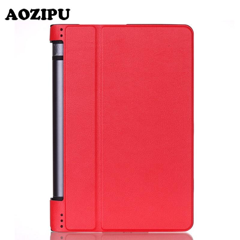Custodia in pelle Smart Stand per Lenovo Yoga Tab 3 850F Tablet a 8 - Accessori per tablet