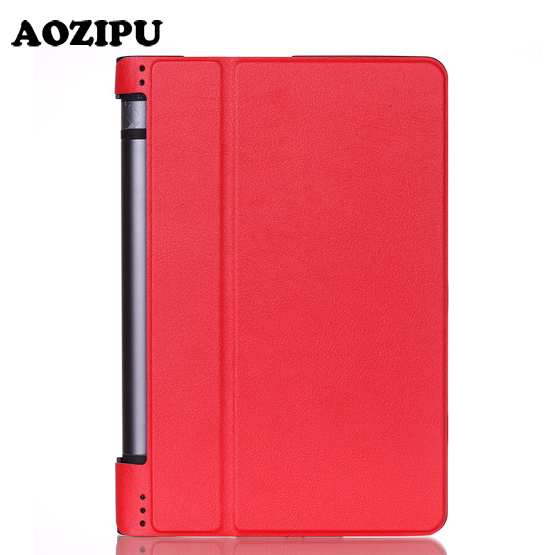 Top Quality Stand Smart Leather Cover for Lenovo Yoga Tab 3 850F 8 inch Tablet Case With Auto Sleep/Wake Up For Yoga Tab3 8 3 in 1 new ultra thin smart pu leather case cover for 2015 lenovo yoga tab 3 850f 8 0 tablet pc stylus screen film