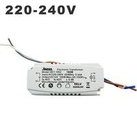 AC 220 V к AC 12 V Электронный трансформатор 60 W 105 W 120 W 160 w CE трансформаторы для освещения G4 кристалл лампа галогеновая свет шарик