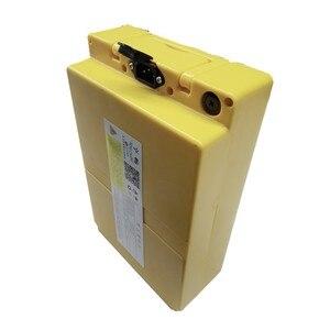 Image 2 - 36v 48v 60v Large capacity lithium battery case battery storage box Electric motorcycle Portable plastic box