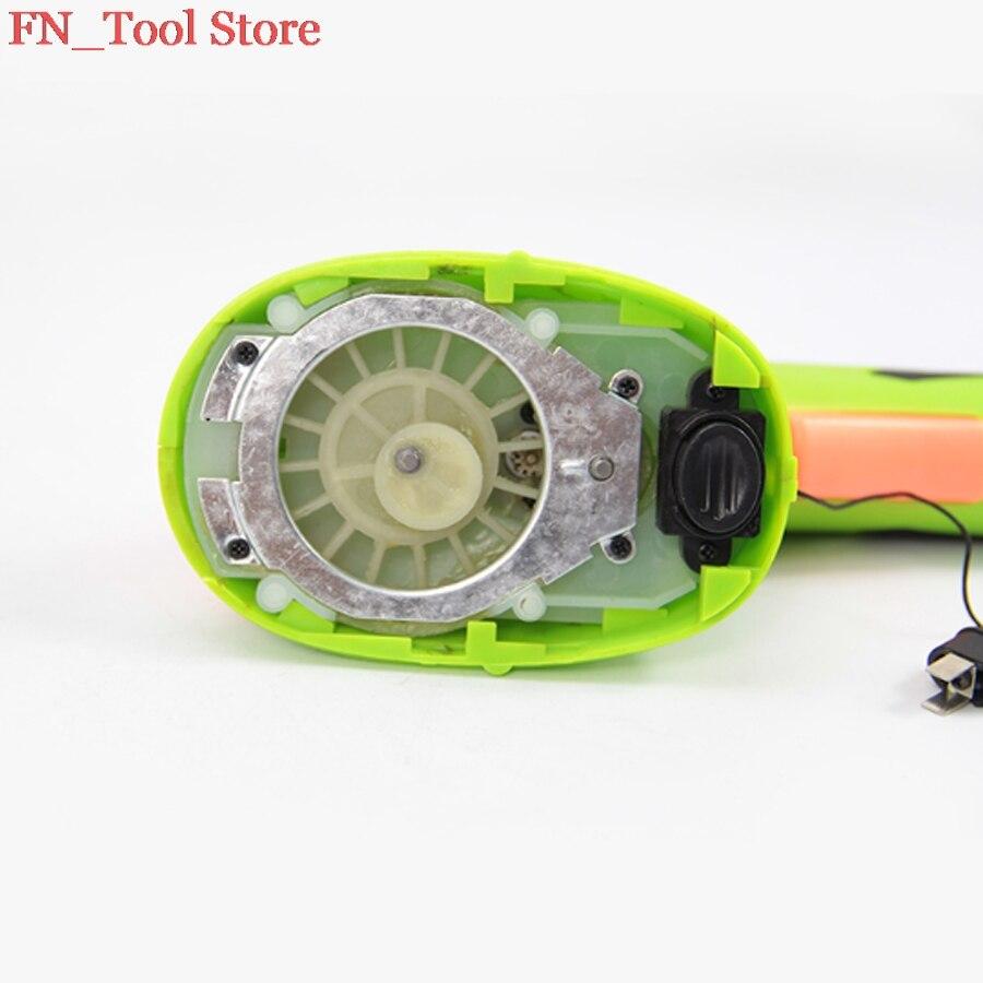 2017 nueva 3,6 V 2in1 inalámbrico Li Ion eléctrico Hedge Trimmer hierba cortador de cepillo mini césped batería recargable de la herramienta de jardín - 4
