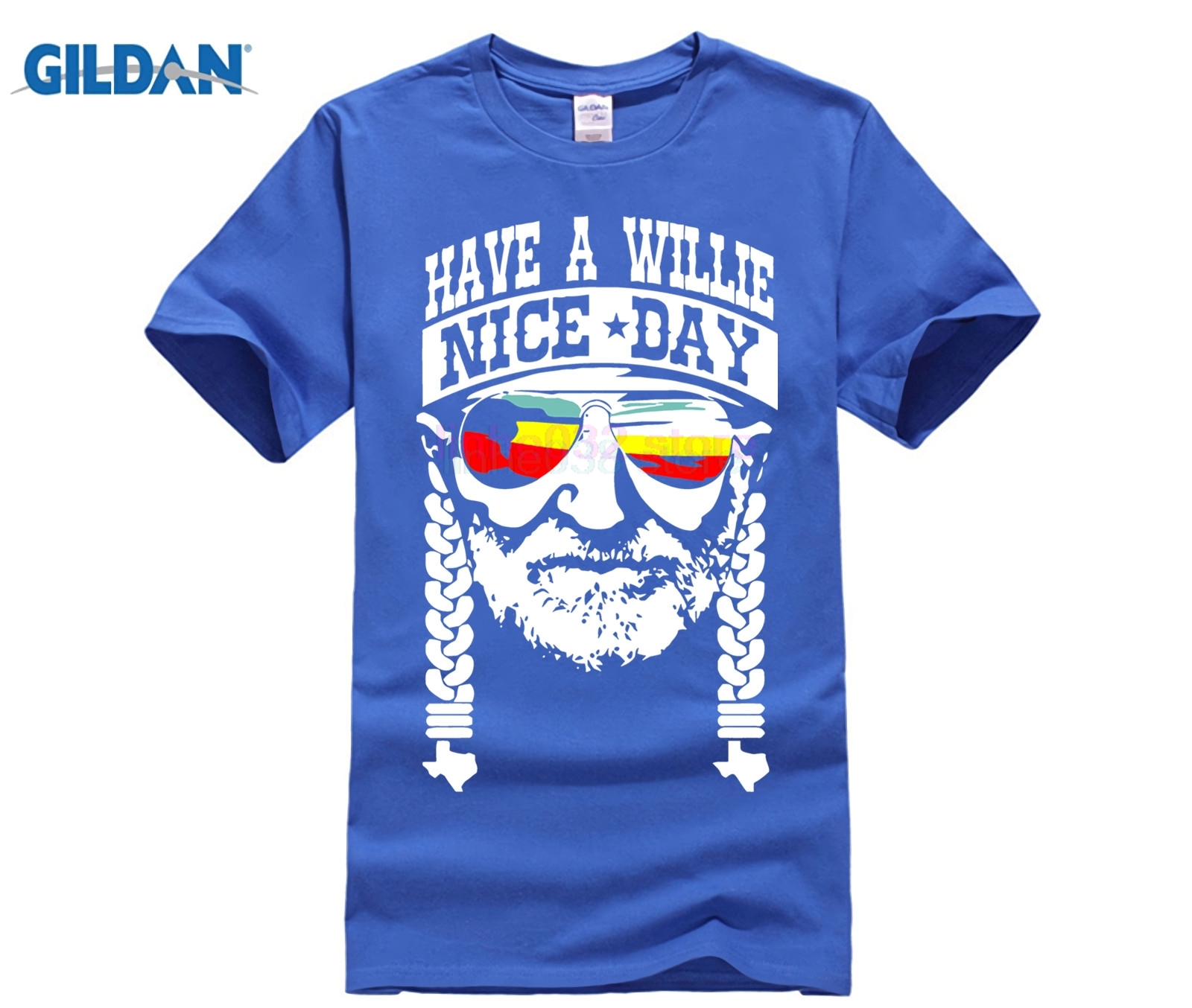 WILLIE NELSON HAVE A WILLIE NICE DAY SHIRT in T Shirts from Men 39 s Clothing