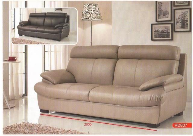 Soggiorno reale divani in pelle MD807 della mucca di alta qualità ...