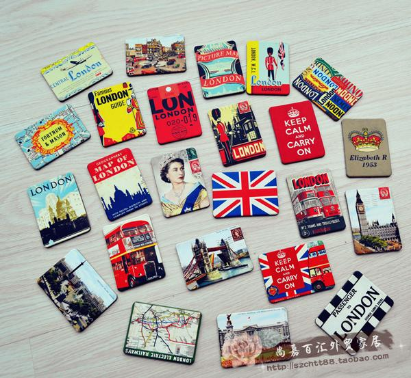 24 piece magnetic fridge magnets refrigerator sticker for Home accessories london