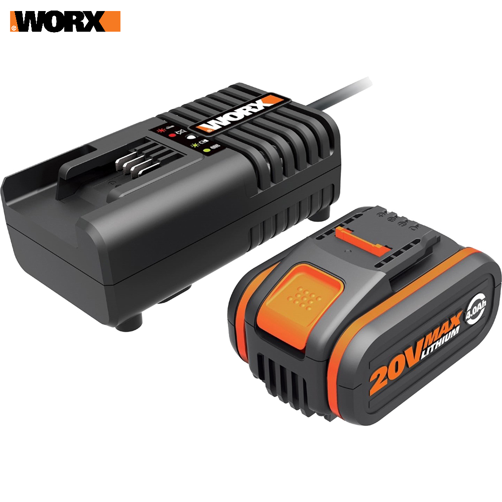 Rechargeable Batteries WORX WA3604 accumulator for power tool acb lithium ion charging device