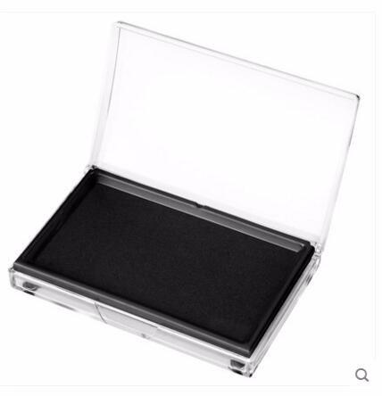 Large Black Stamp Ink Pad Oversized Dedicated Quick-drying Black Sponge Ink Pad Free Shipping