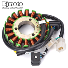 BJMOTO  32101-38302 Motorcycle Magneto Engine Stator Generator Coil For Suzuki GN250 1982-2001 TU250 1997-2016