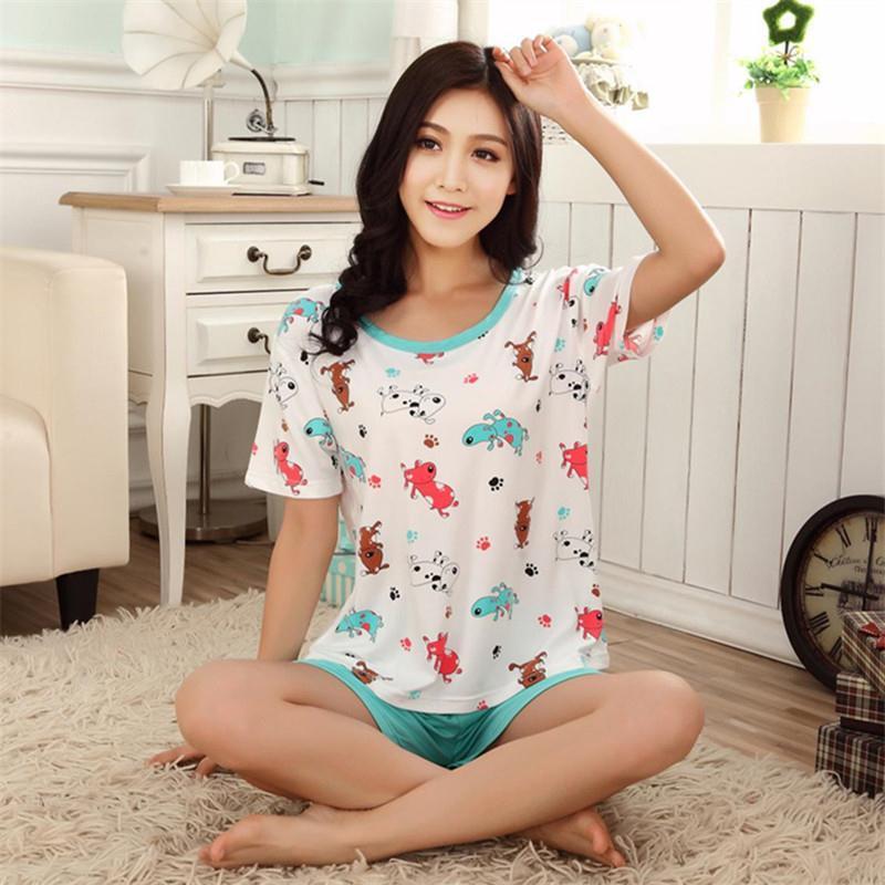 low priced 411e0 4206e damen nachtwäsche sommer neue frauen pyjama pijamas pyjama ...