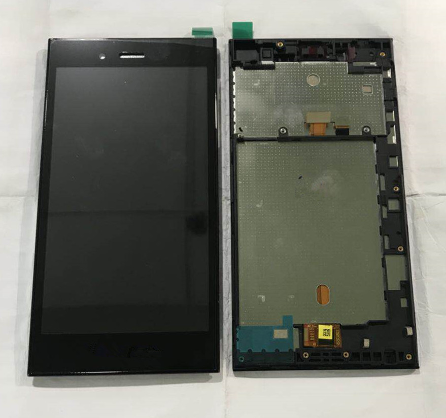 For 5.0 BlackBerry Z3Jakarta Axisinternational LCD screen Display with frame+Touch panel Digitizer for blackberry Z3 display