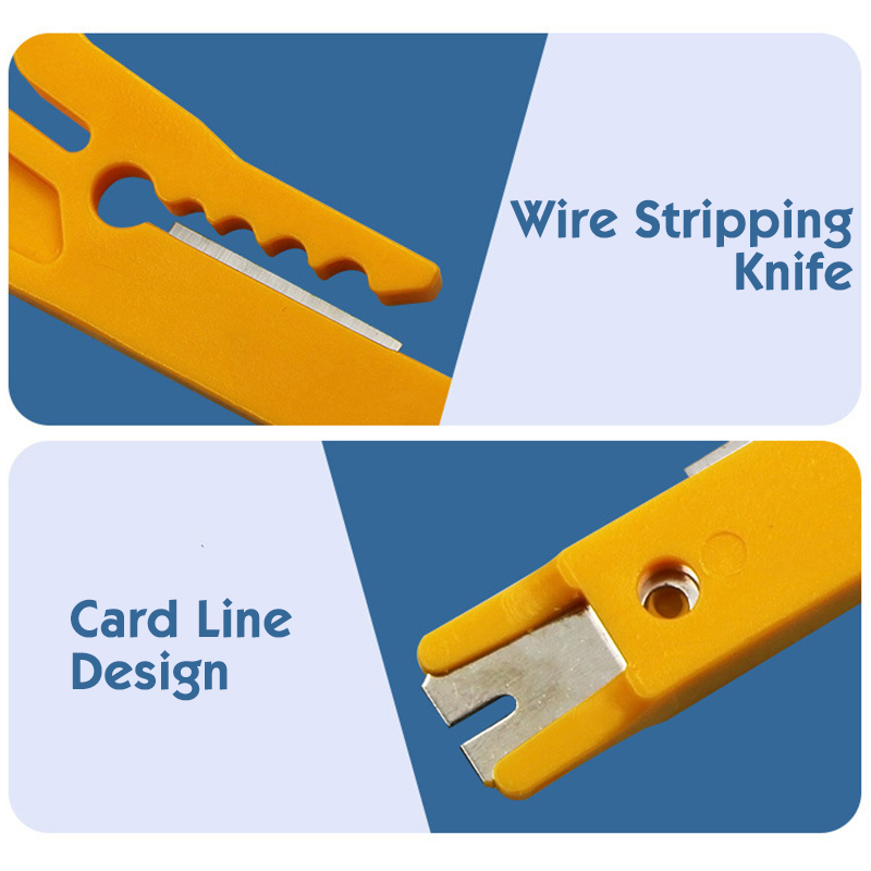 Image 5 - Mini Pocket Portable Wire Stripper Cable Crimper Pliers Crimping Tool Cable Stripping Wire Cutter Crimpatrice Tool Parts-in Networking Tools from Computer & Office