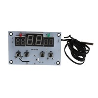 DC 12V Digital Thermostat Temperature Controller Switch With NTC Sensor Probe Temperatural Instruments