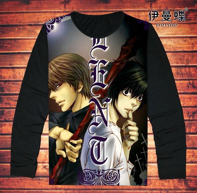 Death Note Full Sleeve T-Shirt Sweatshirt