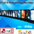 Iphone форма подвижный из светодиодов экран p5 перемещение из светодиодов жк-рекламы машина крытый из светодиодов знак машины
