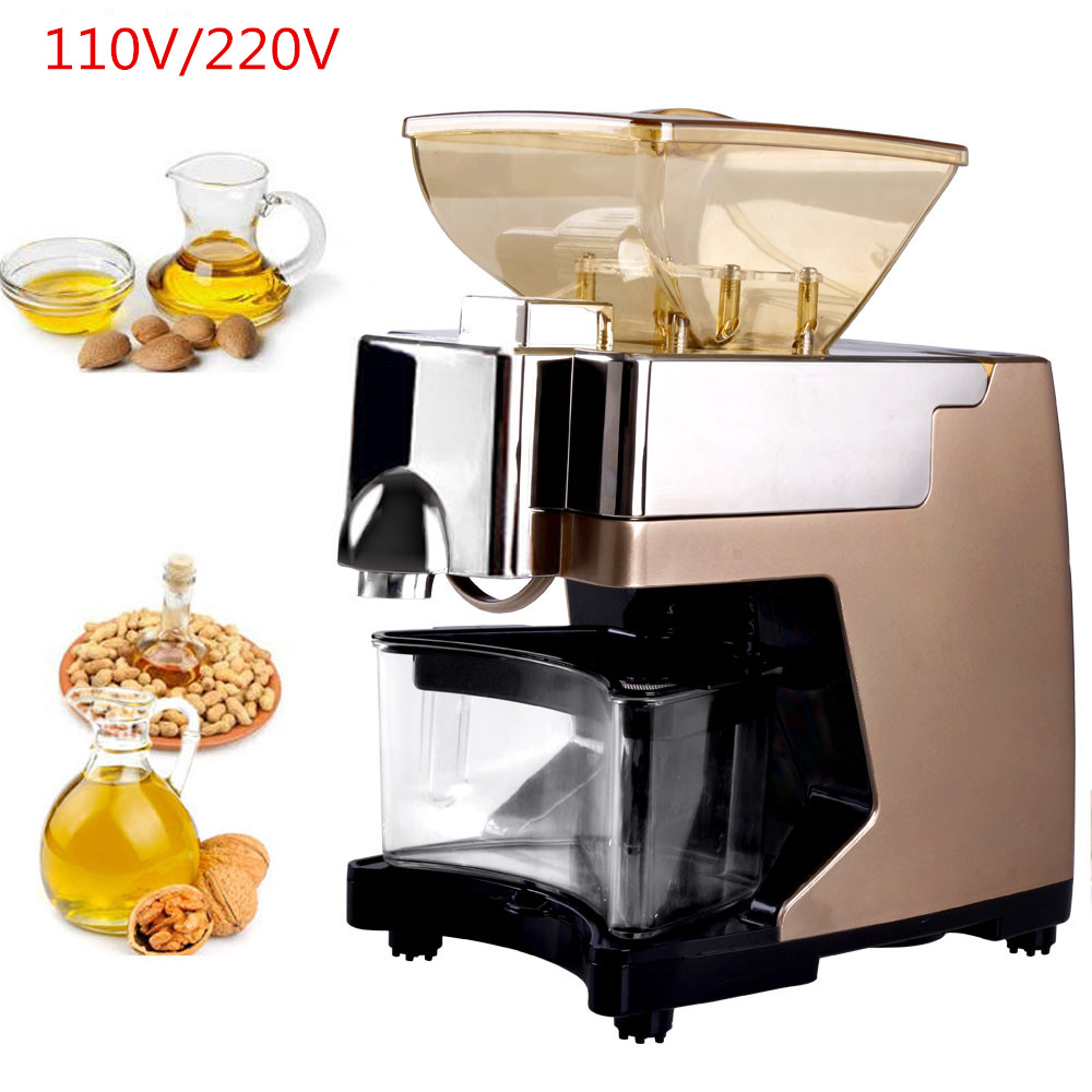 Home Use Mini Peanut Oil Press Machine Commercial Hot And Cold Sunflower Oil Extractor Expeller Presser mini automatic oil press machine commercial home oil extractor expeller presser hot and cold press seed oil making machine zf