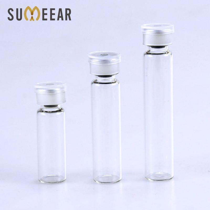 (100 개/몫) 2 ml 3 ml 5 ml 투명 유리 에센셜 오일 병 유리 병 앰플 원래 액체 병 에센셜 오일 총검 유리 병-에서리필 병부터 미용 & 건강 의  그룹 1