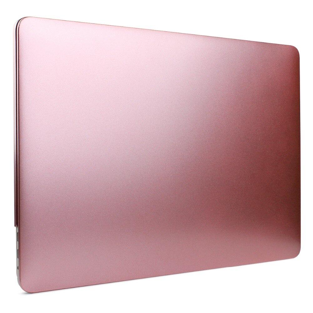 Metal Sprayed Hard Laptop Case For Macbook Pro 13 15 New Air 13 2018 - Նոթբուքի պարագաներ - Լուսանկար 4