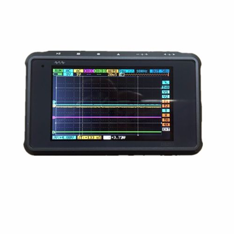 SHINA ARM DSO203 Digital oscilloscope MINI DSO 4 Channel 72MS/S-Metal Cover DSO203 Nano Quad Pocket-Sized No Battery