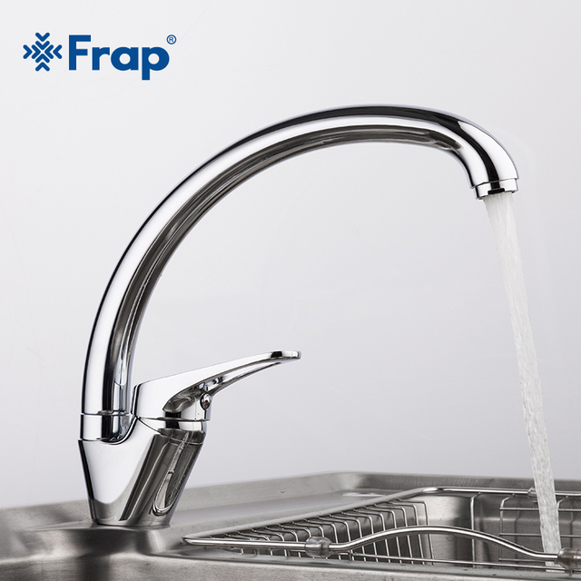 Chrome Kitchen Sink Frap 360 degree rotation brass body chrome kitchen sink faucet cold frap 360 degree rotation brass body chrome kitchen sink faucet cold and hot mixer tap curved workwithnaturefo
