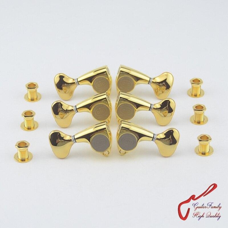 Genuine Original  L3+R3 GOTOH SGV510Z-L5   Guitar  Machine Heads Tuners  ( Gold ) MADE IN JAPAN original 5 1658462 3