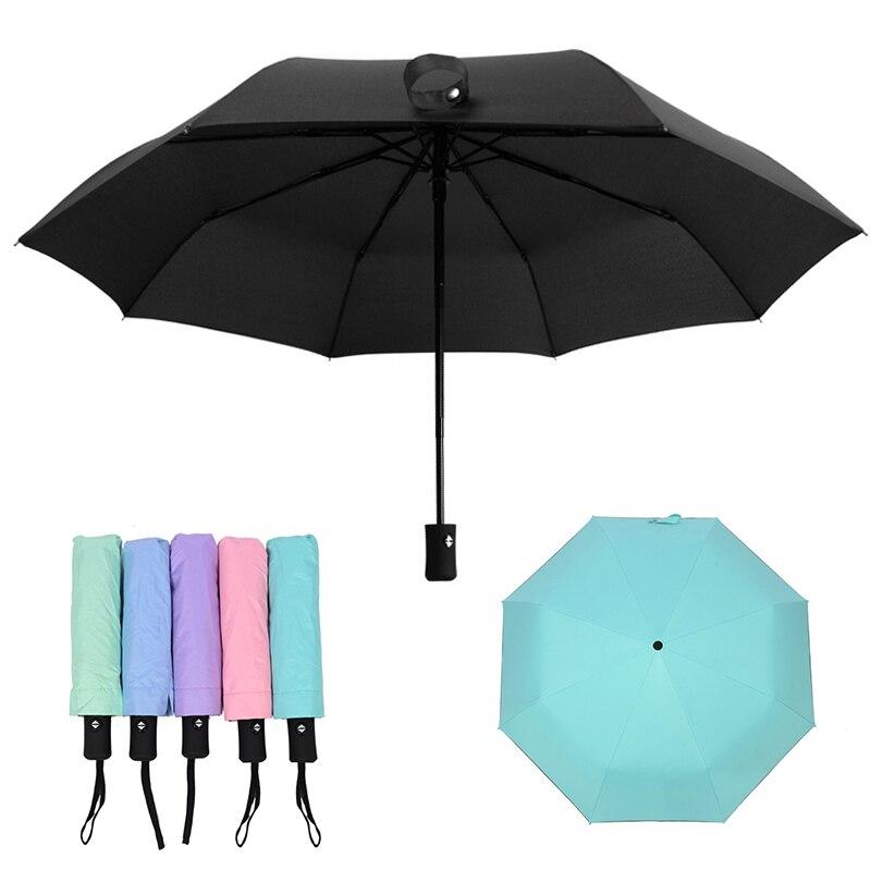 f4ccc8beac0b US $5.68 29% OFF|New Wind Resistant Folding Automatic Umbrella Rain Women  Auto Luxury Big Windproof Umbrellas Rain for Men Women Coating Parasol-in  ...