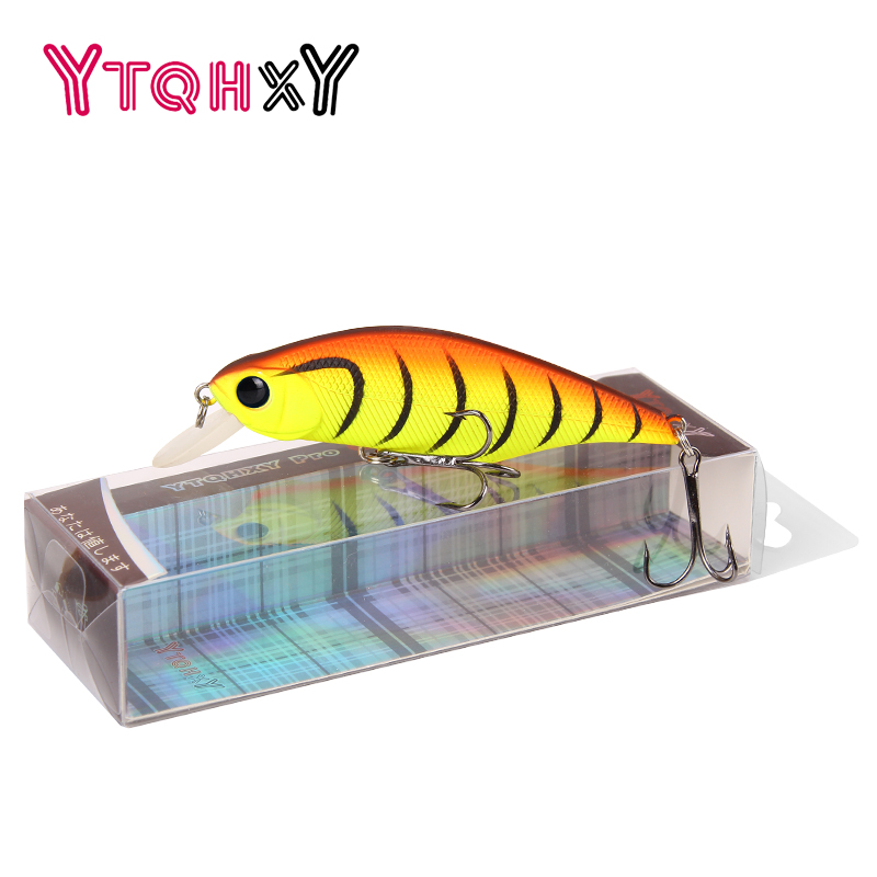 Hot selling Minnow Fishing Lure 13.4g/92mm Artificial Bait Plastic Hard 3D Eyes Peche Floating Wobbler Fishing Tackle WQ162 5pcs hard plastic fishing lure wobbler minnow squid tentacle diving trolling bait 14cm 40g hook size 1 0 free shipping