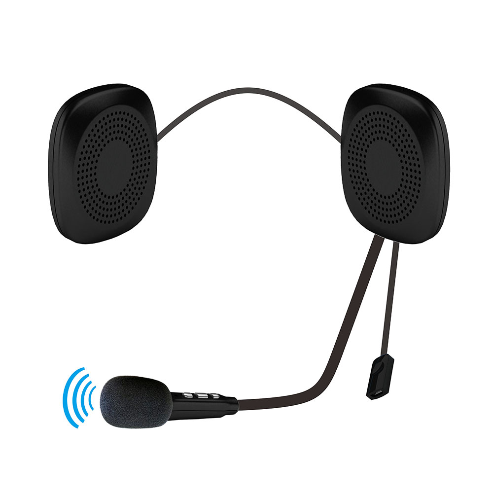 Helmet Wireless Bluetooth Headset for Motorcycle Earphone with Most Scooter Helmets