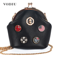 Women Bag Handbags Over Shoulder Crossbody Sling Summer Leather Chain Small Flap Candy Color Cute Girl