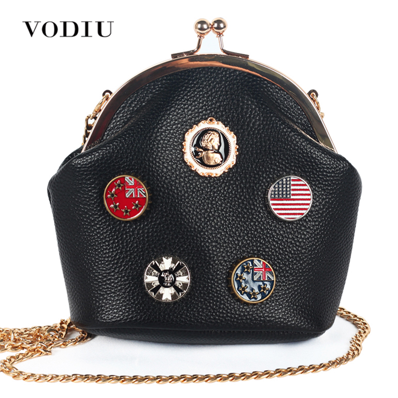 Women Bag Handbags Over Shoulder Crossbody Sling Summer Leather Chain Small Flap Candy Color Cute Girl High Quality Designer