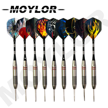 6pcs/Set Professional 25g Tungsten Steel Tips Hard Needle Darts  Multiple Styles Colorful Tip with Dart Sports T