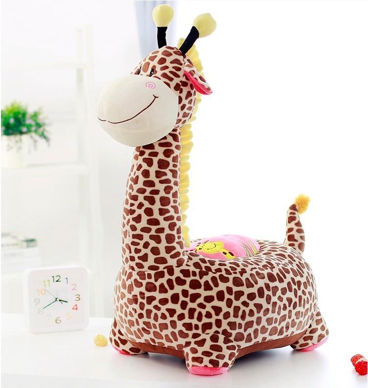 brown giraffe plush sofa tatami toy, children's sofa floor seat cushion large 60x45cm birthday gift 0295 футболка toy machine leopard brown