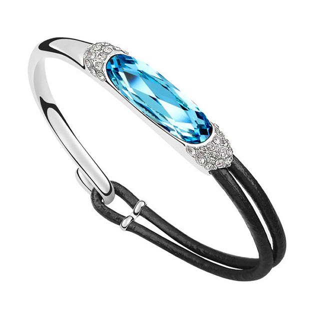 Woman Bracelet Made with Swarovski Element Crystal