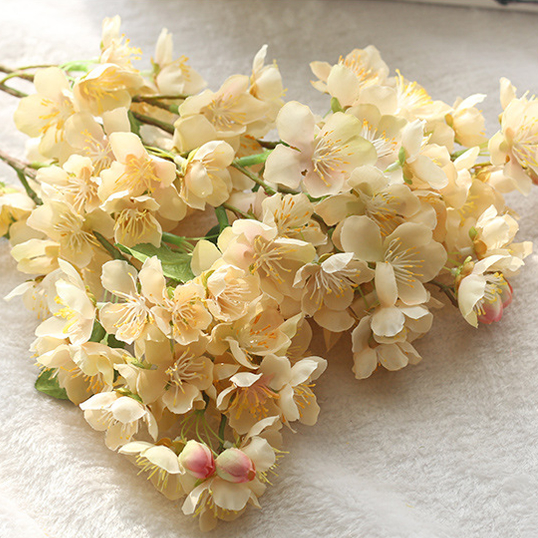 525cm fake flowers wedding home party decor supplies artificial 525cm fake flowers wedding home party decor supplies artificial flowers cherry blossom bouquet beautiful vivid japanese sakura in artificial dried izmirmasajfo