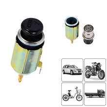 12V Universal for Car Motorcycle Cigarette Lighter Head+Socket Assembly + Power Cord Accessories