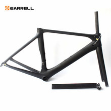 EARRELL racefiets carbon frame T1100 carbon road frame carbon fietsframe set 3 K matte glossy bb92 bicicleta vet bike(China)