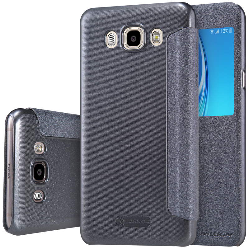 outlet store f01d0 bac83 US $8.79 |For Samsung Galaxy J7 2016 case Nillkin Sparkle case for Samsung  J7108 phone cases filp cover for J7108 protective case-in Flip Cases from  ...