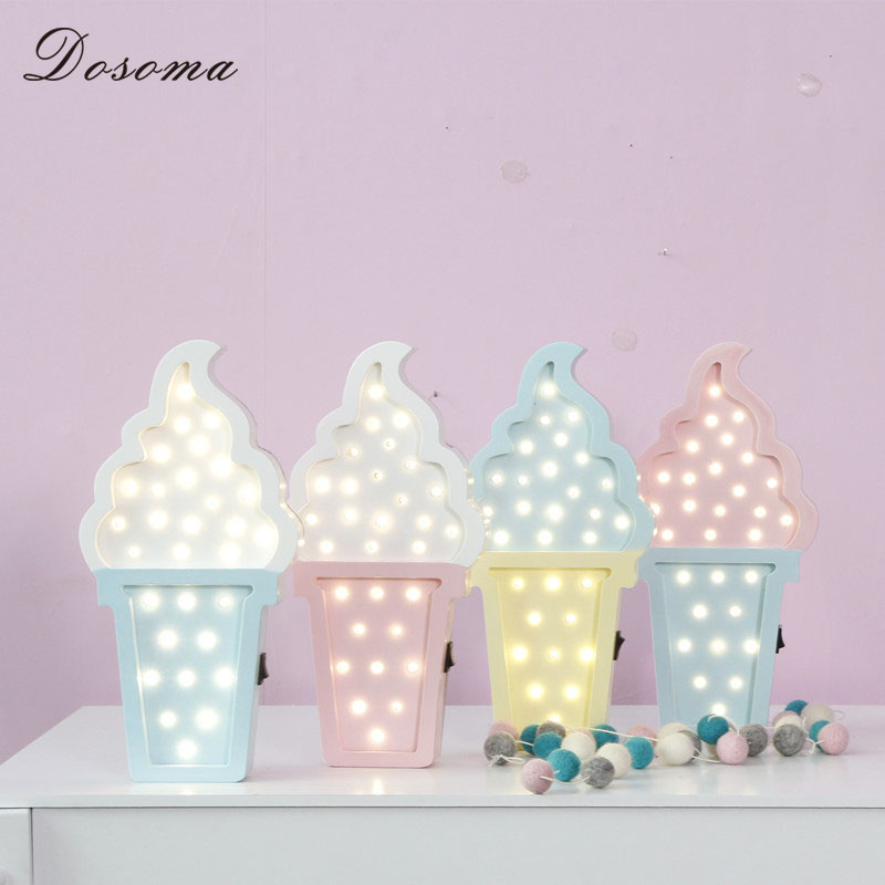 Ice Cream Bedroom Decor