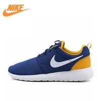 Auténtico Nueva Llegada ROSHE Nike UNO SÍ Zapatos Corrientes de Los Hombres Zapatillas de Deporte 844687-402