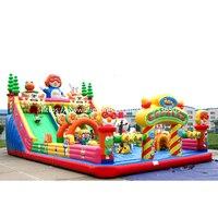 Vendita calda all'aperto di divertimento della città  gonfiabile castello gonfiabile  gonfiabile castello di salto per i bambini