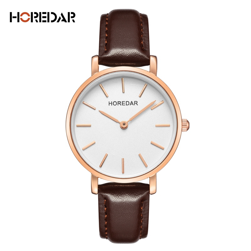 Simple Watches Top Brand Fashion Unisex Leather Watch Women High Quality Quartz Casual Wristwatch gift for couple Female Clock high quality brand leather casual watch women ladies fashion dress quartz wristwatches roman numerals watches men gift unisex