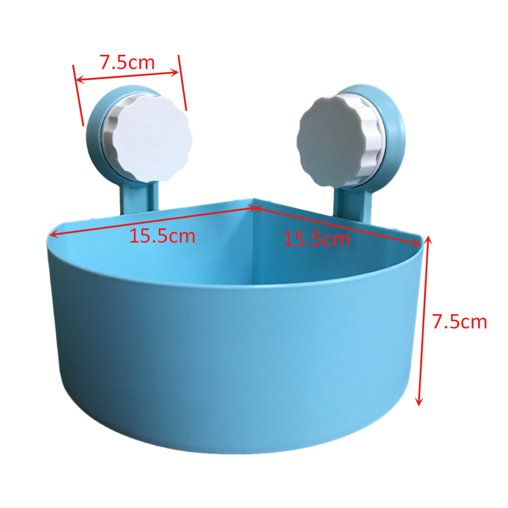 New Style Suction Cup Bathroom Shelves Washroom Toilet Racks Wall ...