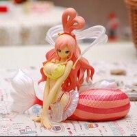 Новый горячий 17 см одна часть Shirahoshi Русалка Принцесса Сексуальная девушка фигурку игрушки коллекция Рождество подарок с коробкой wx182