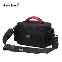 Jealiot DSLR Camera Bag Fashion Nylon Shoulder Bag Camera Case For Canon Nikon Sony Lens Pouch Bag Waterproof Photography Photo