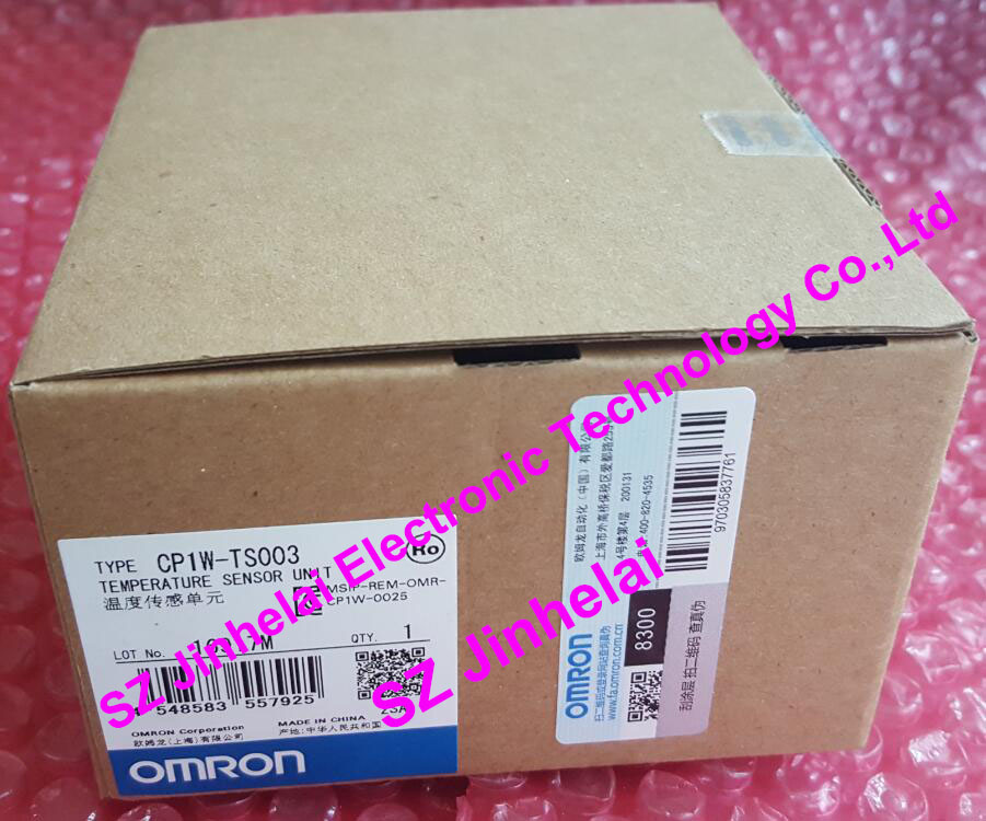 100% New and original OMRON Temperature sensor unit CP1W-TS003 new and original e3x da11 s omron optical fiber amplifier photoelectric switch 12 24vdc