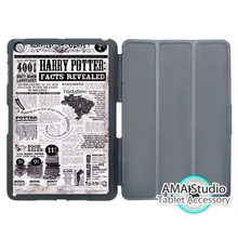 Harry Potter Facts Revealed Cover Case For Apple iPad Mini 1 2 3 4 Air Pro 9.7 Wake UP Sleep(China (Mainland))