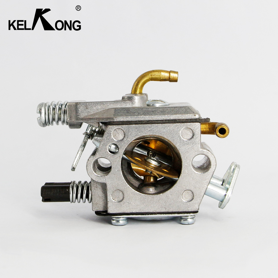 KELKONG New 45cc 52cc 58cc MP16 16MM ChainSaw Carburetor 4500 5200 5800 Carburetor Copper Made Elbow Pipe and Inner Fuel Pipe 4500 5200 5800 45cc 52cc 58cc chinese chainsaw damper spring shock buffer set