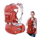 New Design pure cotton baby carriers/ babies carrier toddler backpack baby backpack with dismountable large space mom bag