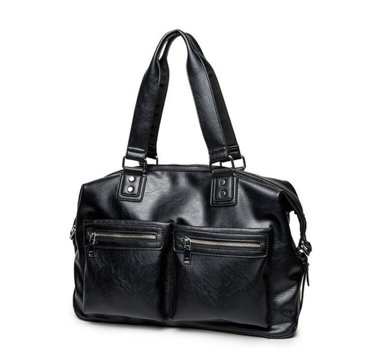 5958bc3cc0 yesetn bag 090216 new hot man handbag male fashion tote men big shoulder bag -in Top-Handle Bags from Luggage   Bags on Aliexpress.com