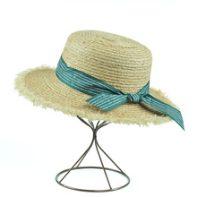 summer hats for women Beach Caps Sombreros Wide Brim Beach Side Cap Floppy Female Raffia Straw Hat chapeau femme fluffy synthetic lolita curly flax mixed gold long side bang capless cosplay wig for women