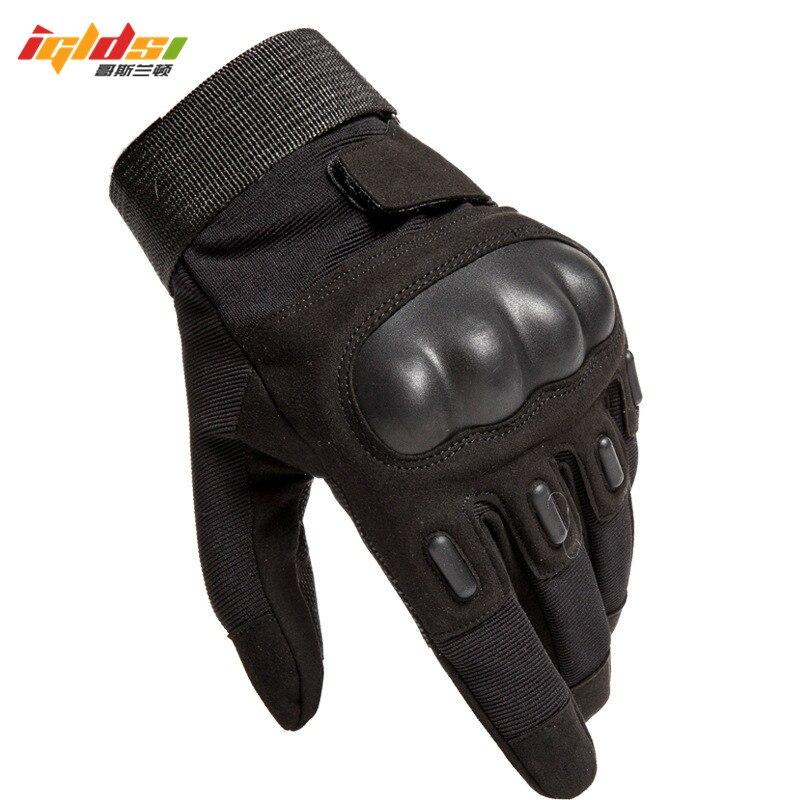 Для мужчин Военно-тактические перчатки съемки страйкбол Пейнтбол CS Полиция Армия воздействия защитных борьба боевой Жесткий костяшки безо...