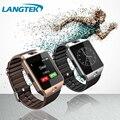 LANGTEK Smart Watch DZ09 для Android Телефон с СИМ-Карты Смартфон Здоровья Smartwatches Bluetooth Носимых Устройств Наручные Часы